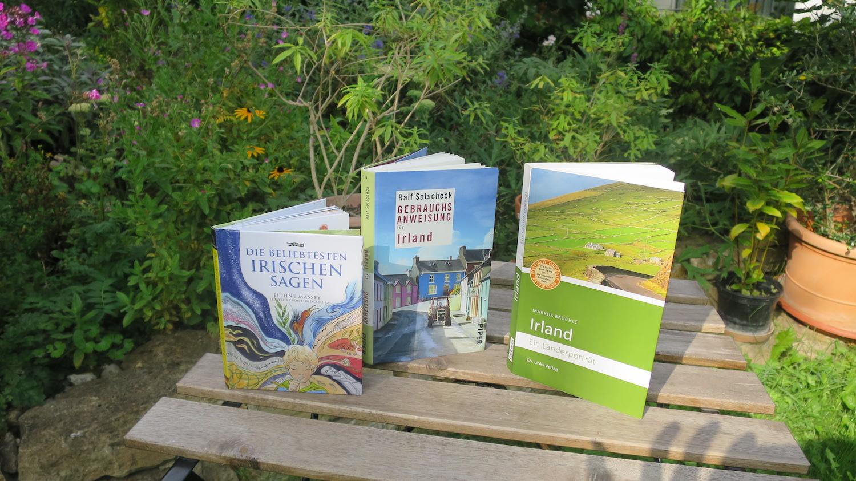 Reisevorbereitung – meine Buchtipps für Irland