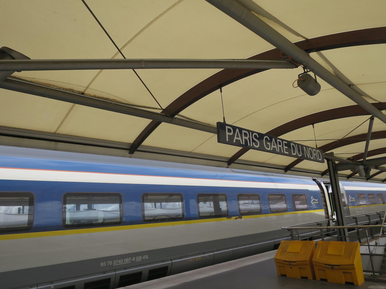 Mit dem Zug von London über Paris nach Basel